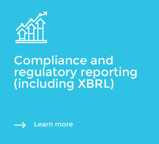 Compliance and regulatory reporting