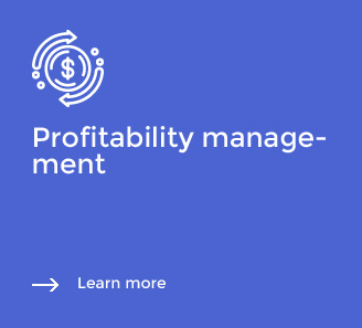 Profitability management