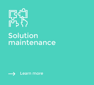 Solution maintenance